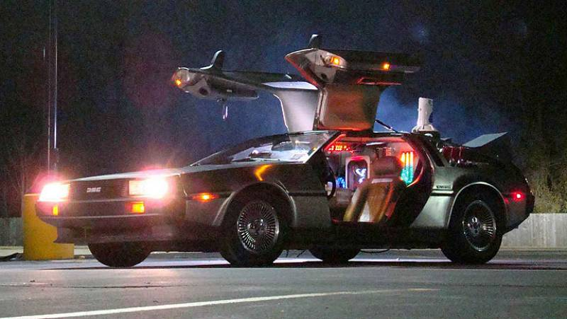 Días de cine: El DeLorean de 'Regreso al futuro' cumple 35 años