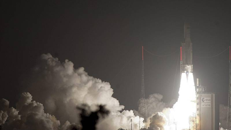 El carguero europeo ATV despega con éxito a la ISS
