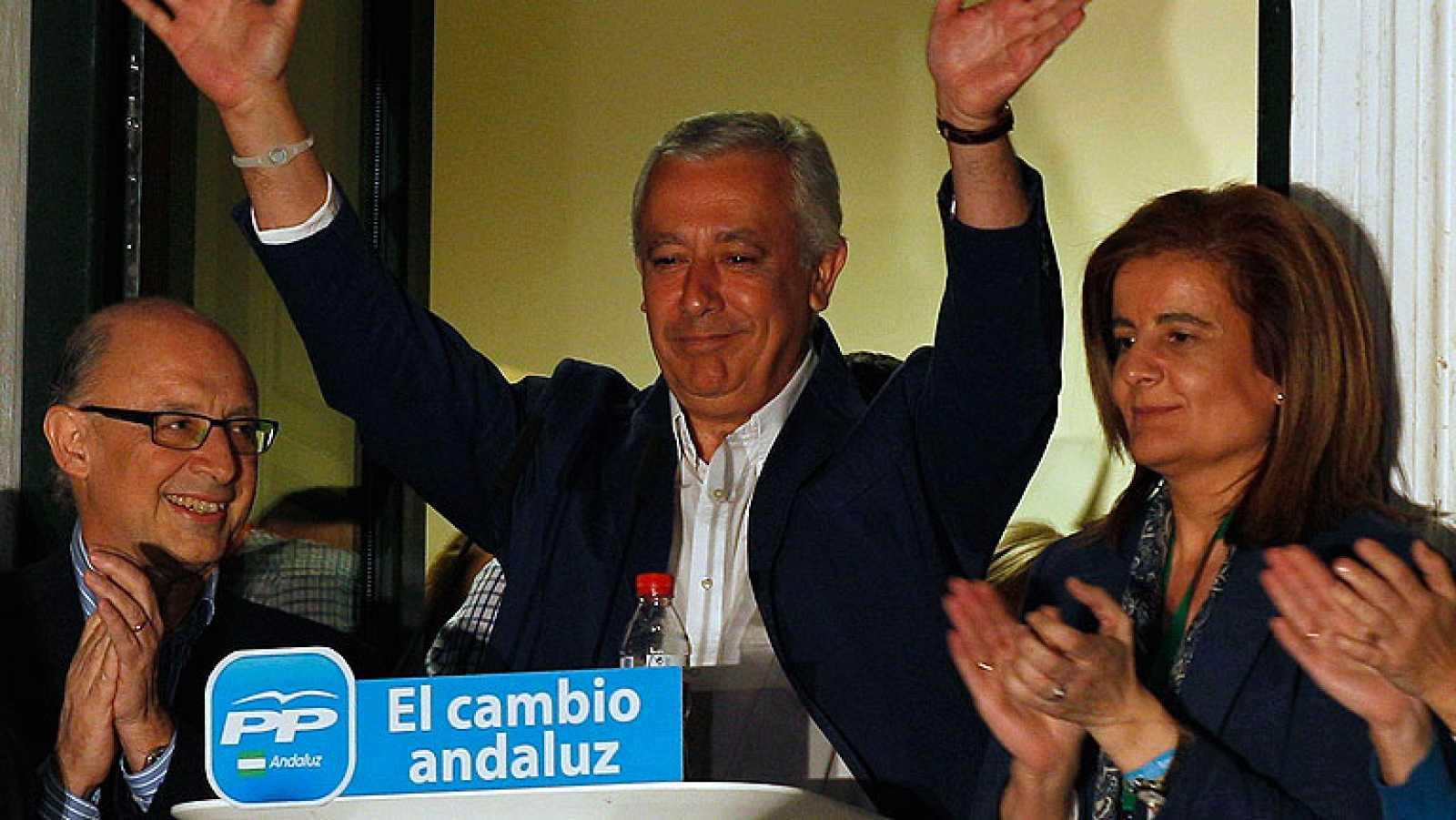 El PP gana en Andalucía, pero no consigue mayoría absoluta