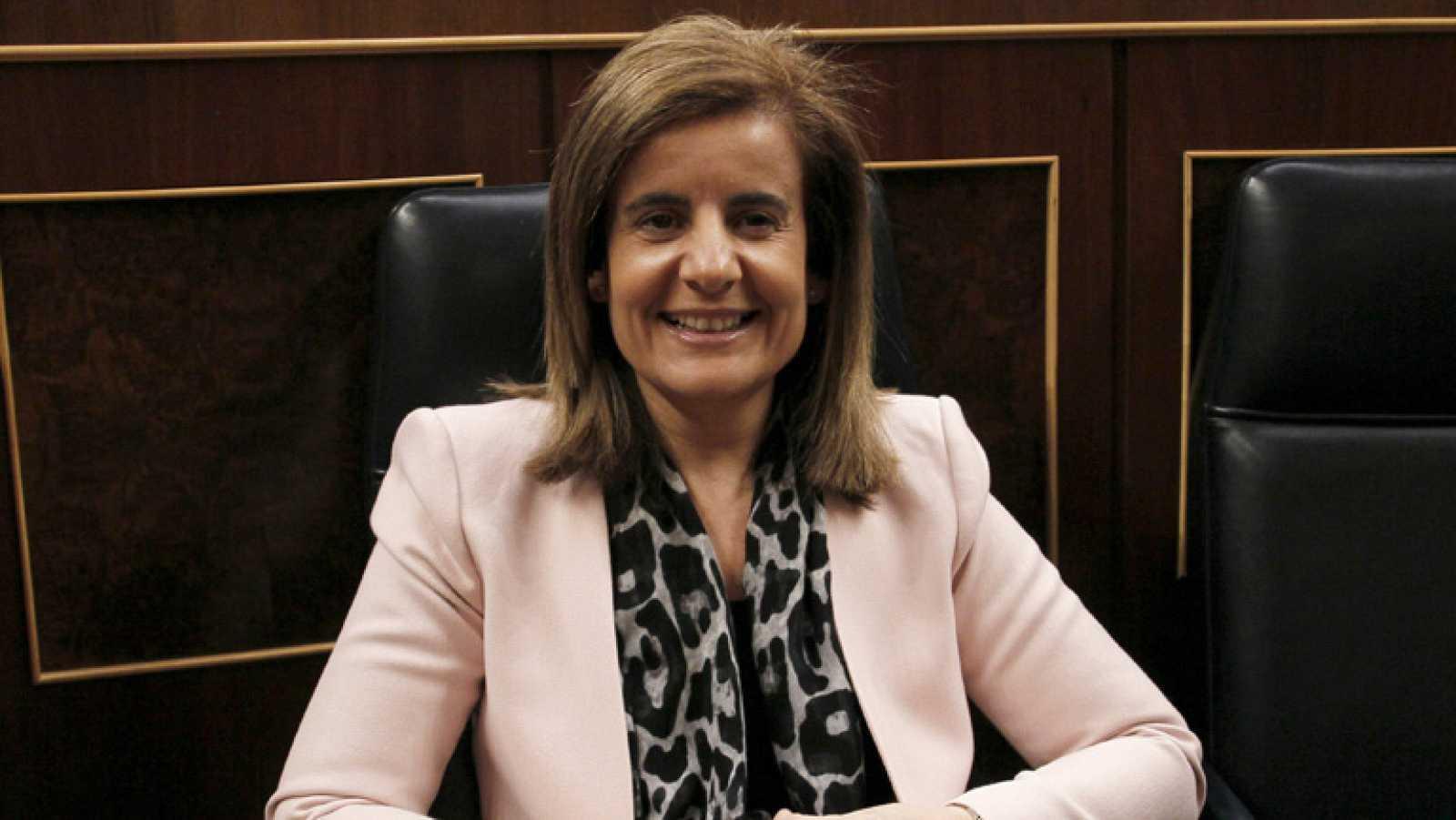 La ministra de Empleo Fátima Bañez ha destacado la normalidad con la que se está desarrollando la jornada de huelga