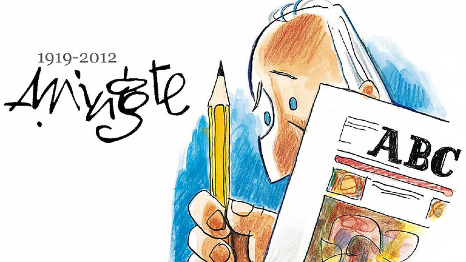 Mingote, el dibujante académico de la lengua nos dice adiós
