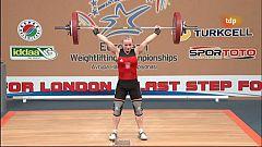 Halterofilia - Campeonato de Europa 48 Kgs. Femenino