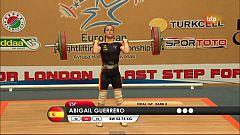Halterofilia - Campeonato de Europa 53 Kgs. Femenino