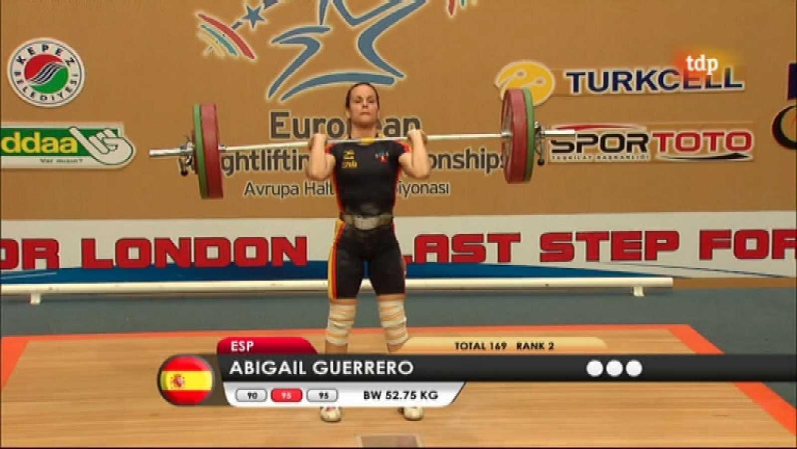 Halterofilia - Campeonato de Europa 53 Kgs. Femenino - ver ahora