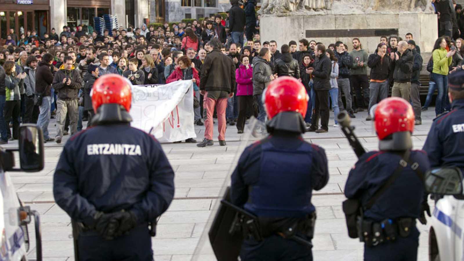 La comisión europea aconsejó en 2011 a España que prescindiera del uso de pelotas de goma