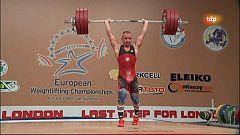 Halterofilia - Campeonato de Europa 77 Kgs. Masculino