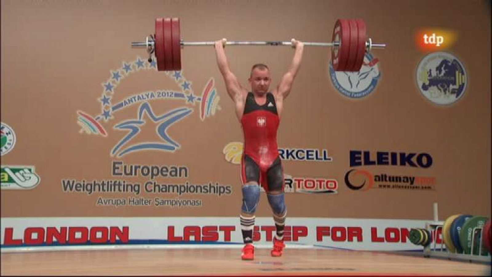 Halterofilia - Campeonato de Europa 77 Kgs. Masculino - ver ahora