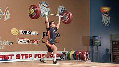 Halterofilia - Campeonato de Europa 69 Kgs. Femenino