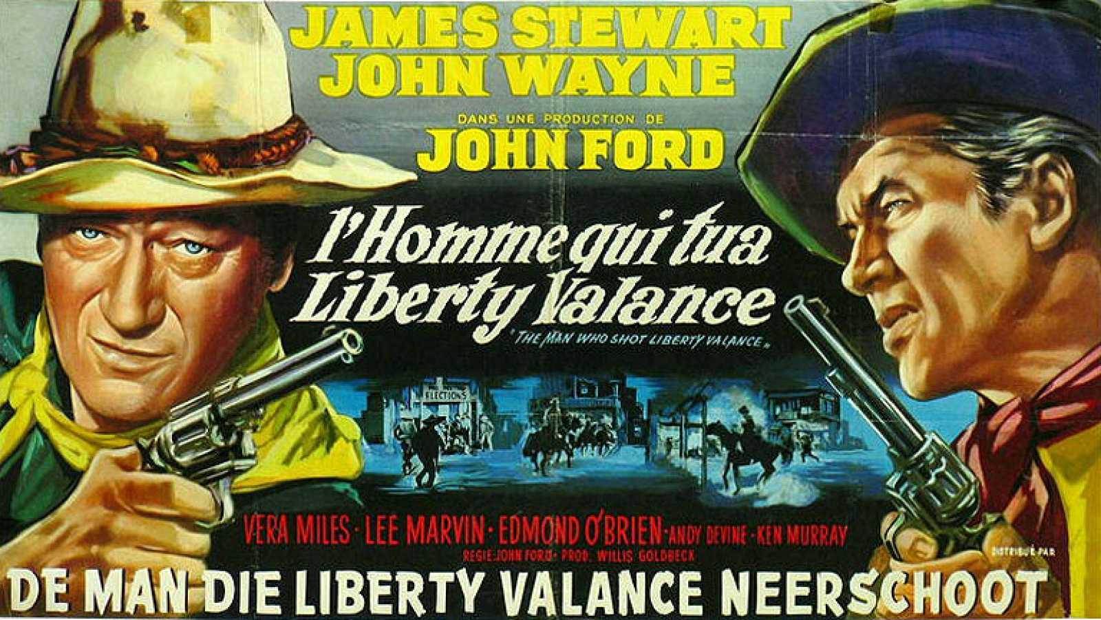Resultado de imagen de El hombre que mató a Liberty Valance