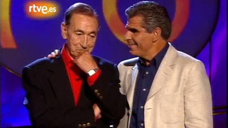 Gila se emociona en su homenaje en TVE (1999)