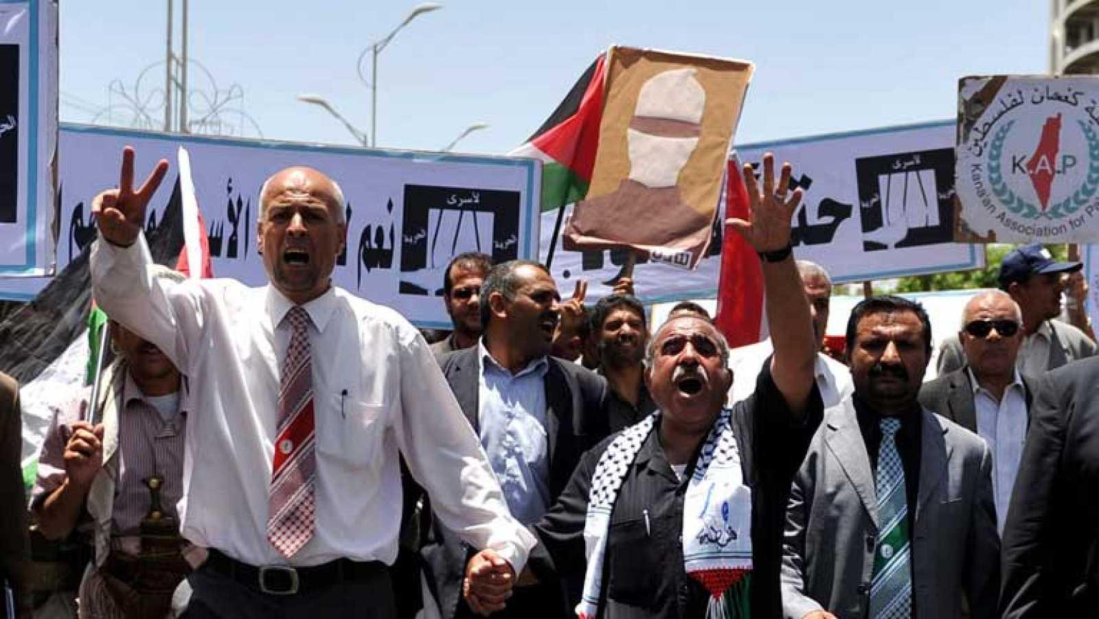 Los palestinos conmemoran su éxodo tras la creación del estado de Israel