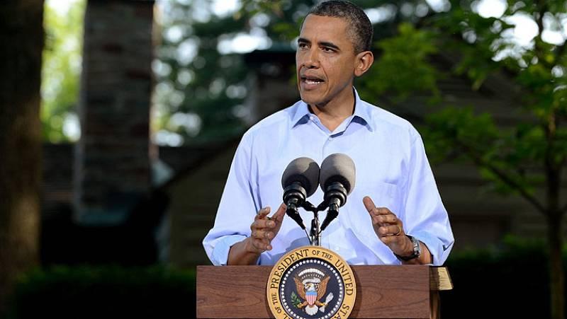 Concluye la reunión de los líderes del G-8 en Camp David