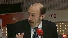 """Rubalcaba: """"Es un éxito que la UE hable de crecimiento y no solo de ajuste"""""""
