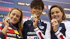 Otra medalla para Mireia Belmonte en los Europeos