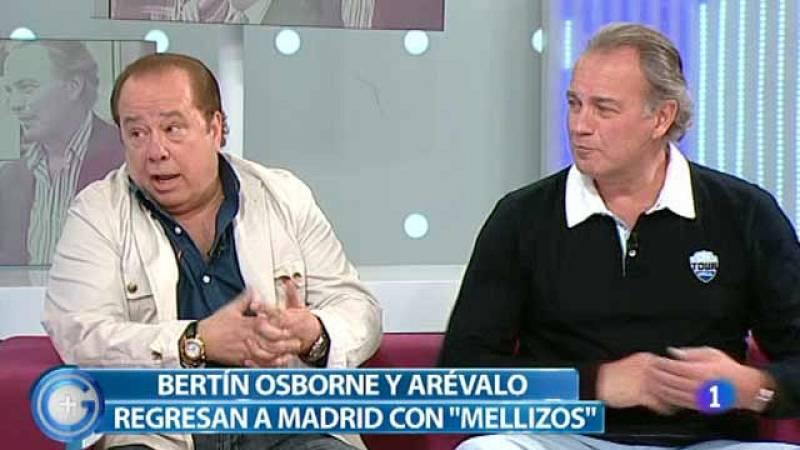 Más Gente - Arévalo y Bertín Osborne se convierten en 'Mellizos'