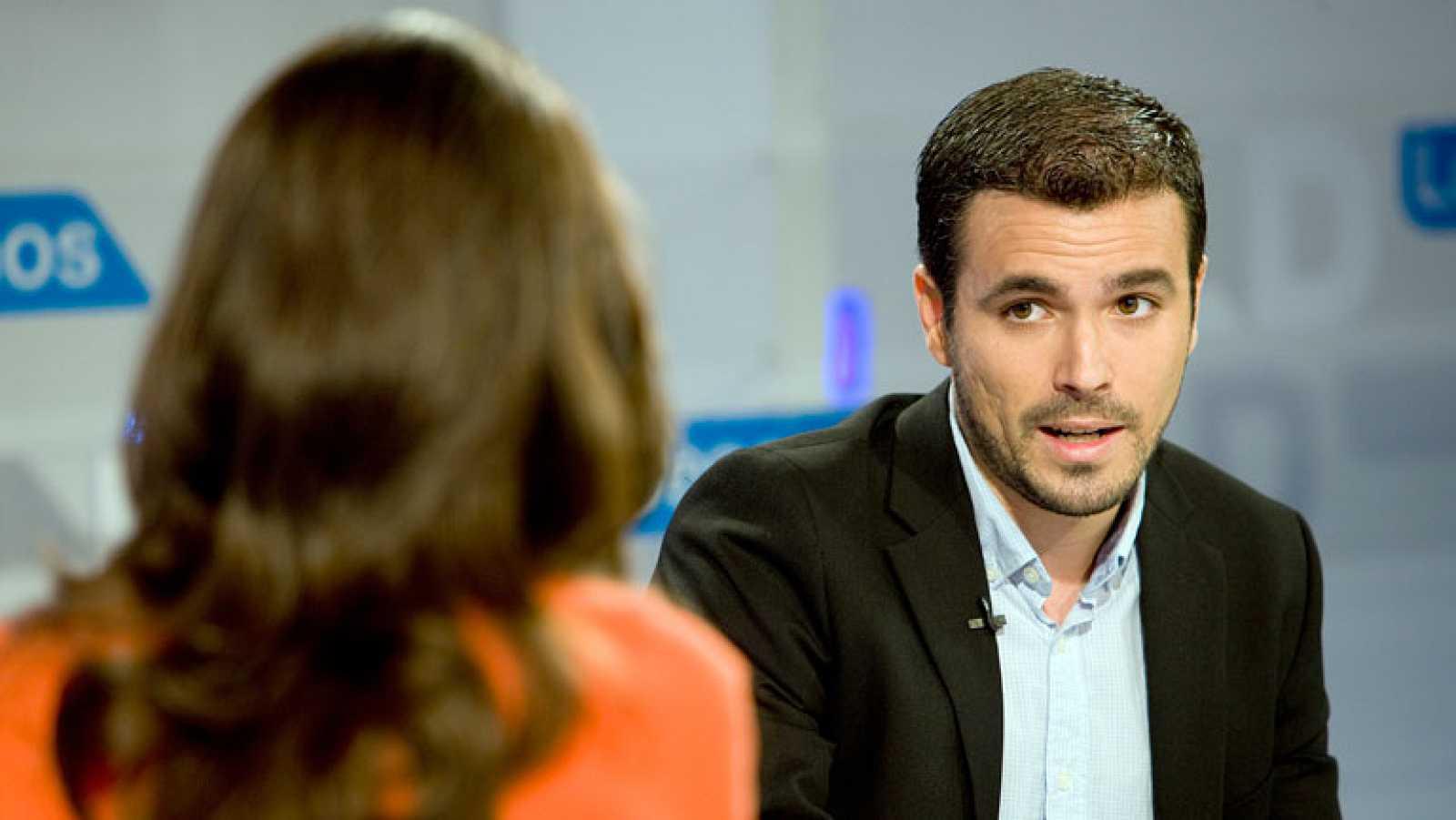 """Alberto Garzón (IU): """"Vamos hacia el abismo. Estamos repitiendo lo que hace Grecia"""""""