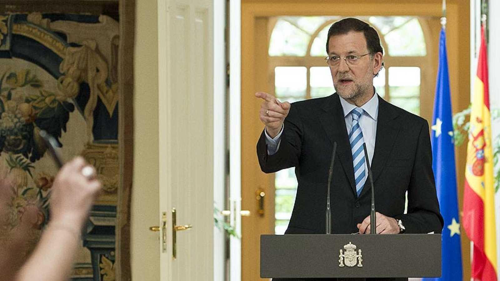 Comparecencia de Rajoy para explicar el rescate