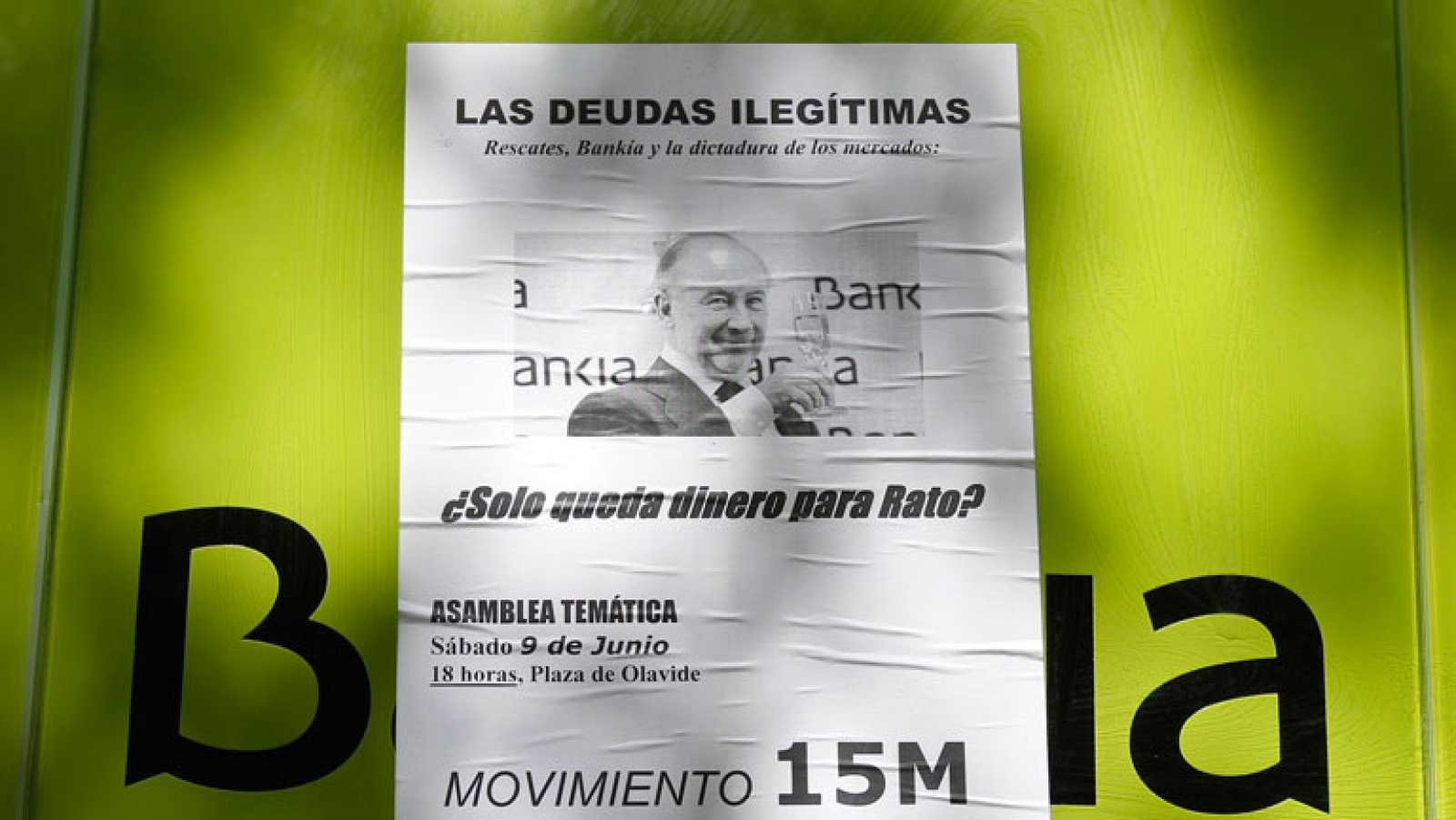 El 15M pide en la Audiencia prisión preventiva y embargo de los bienes para Rodrigo Rato