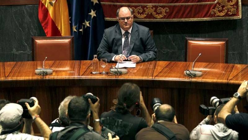 Comparecencia íntegra del vicepresidente del CGPJ tras la dimisión de Carlos Dívar
