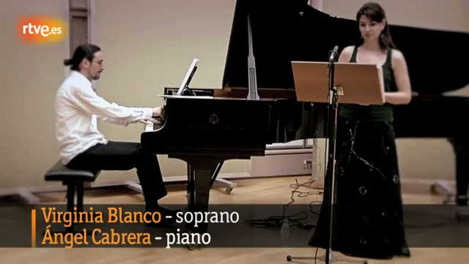 La soprano Virginia Blanco en el Día de la Música