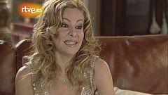 Ana Obregón y su serie, en 'Gente' (2005)