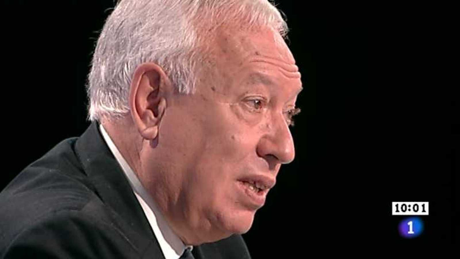Los desayunos de TVE - José Manuel García-Margallo, ministro de Asuntos Exteriores y Cooperación  - Ver ahora
