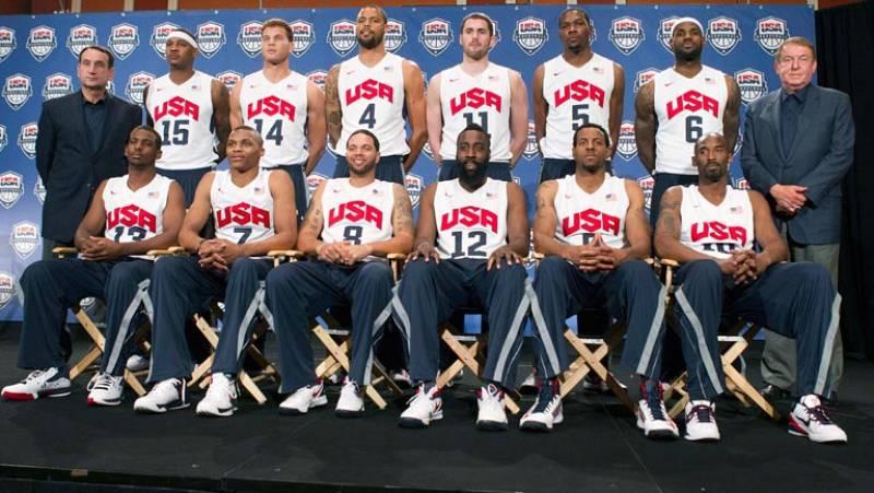 Estados Unidos muestra sus cartas para el oro de baloncesto