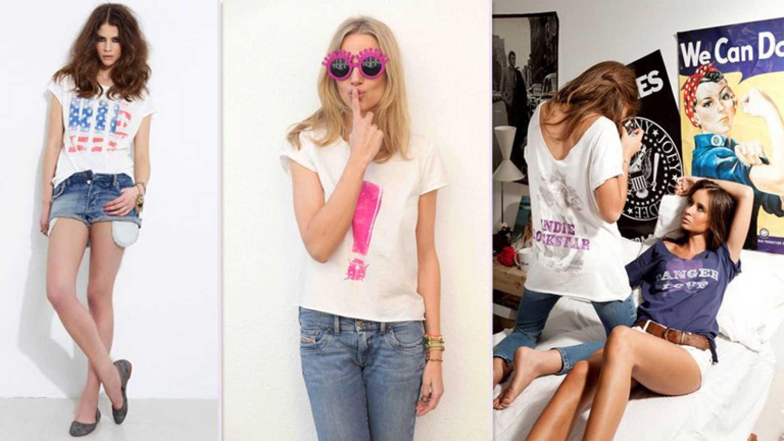 Streetstyle: las camisetas