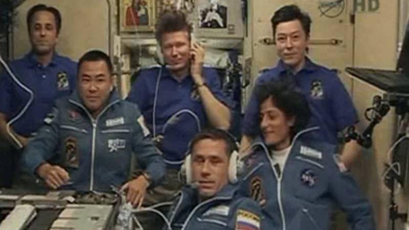 Llegada de los nuevos tripulantes de la ISS