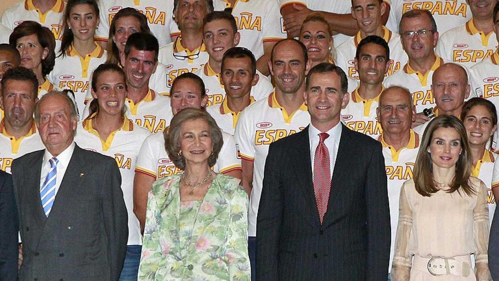 """""""Quiero trasladaros el apoyo de la Corona y desearos el mayor de los éxitos en estos Juegos Olímpicos"""", ha dicho Don Juan Carlos."""