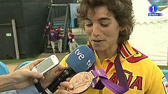 """Chourraut: """"Esta medalla va para el slalom"""""""