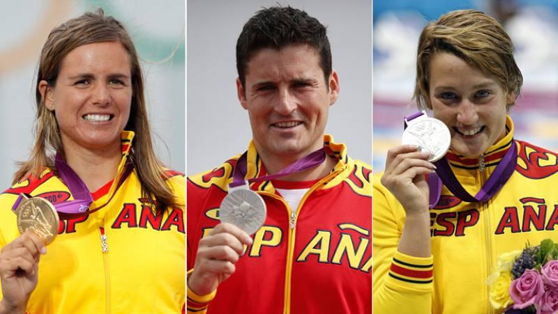 Las medallas de 'agua' de España, para las mujeres y los gallegos