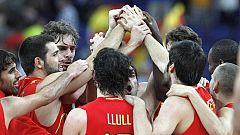 La selección española de baloncesto juega la semifinal de Londres 2012 ante Rusia