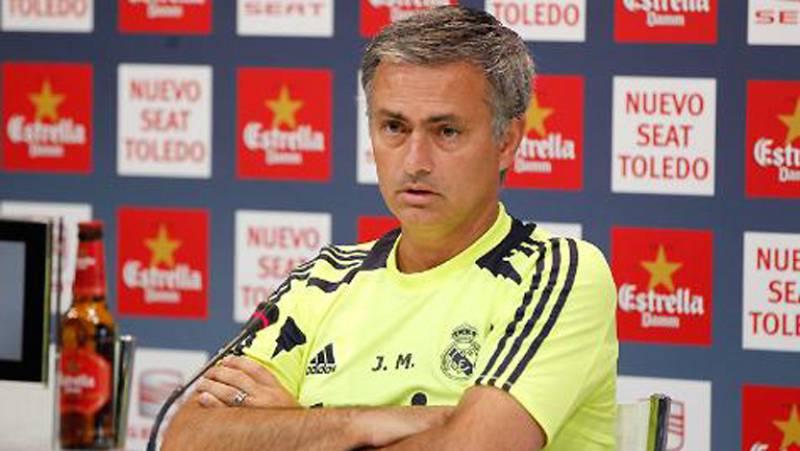 """Mourinho: """"El Barça son los mismos de siempre"""""""