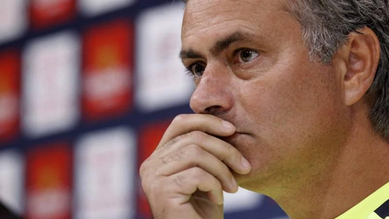 """Mourinho: """"Firmo perder la Supercopa y ganar la liga"""""""