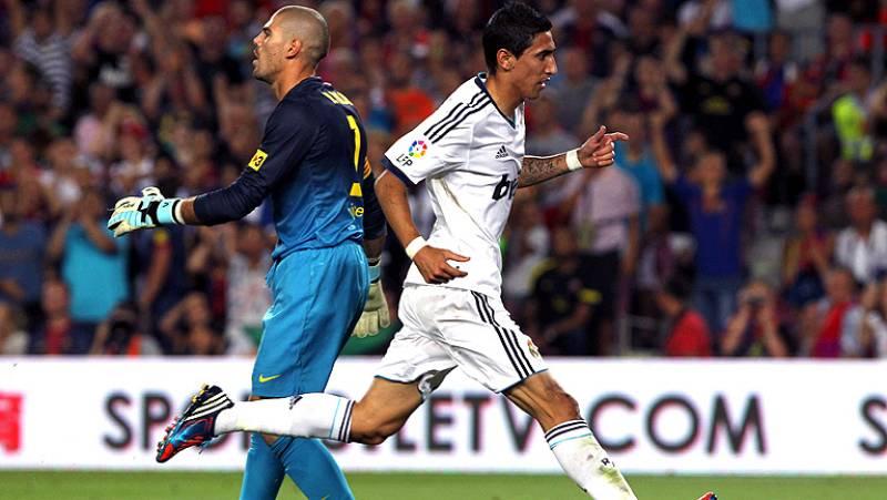 En un minuto se pasó en el Camp Nou del 4-1 al 3-2. El error de Valdés ante Di maría deja la eliminatoria abierta para el partido de vuelta.