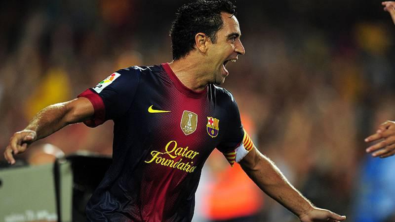 """Xavi: """"Jugamos mejor que el Madrid"""""""