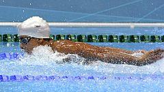 Enhamed, plata en 400 metros libre
