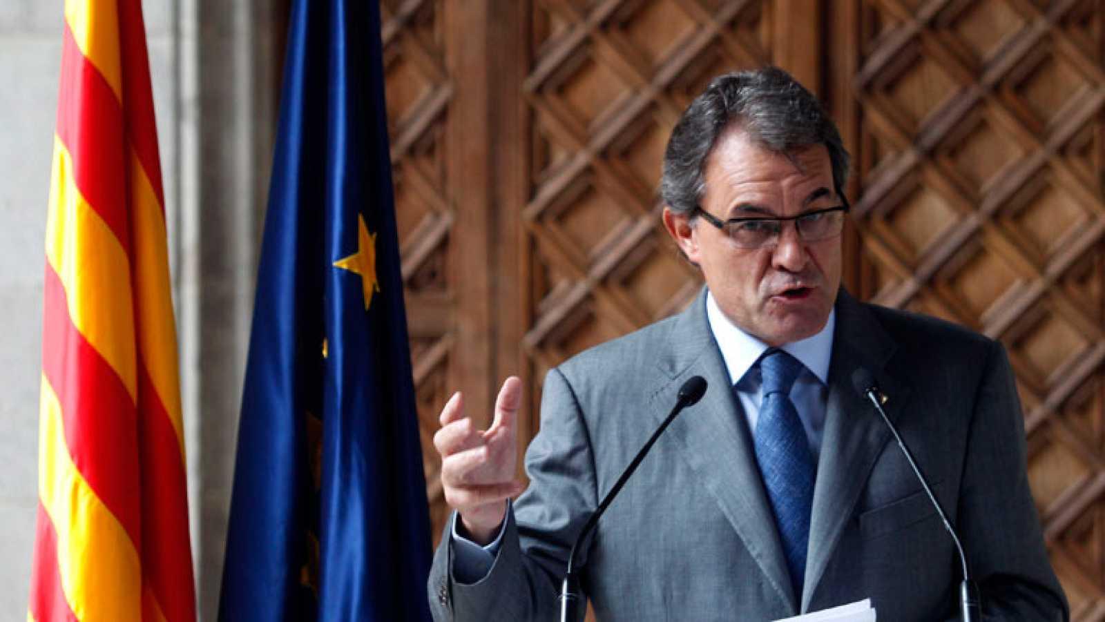 Un día después de la Diada Mas se compromete a dotar de estructuras de Estado a Cataluña