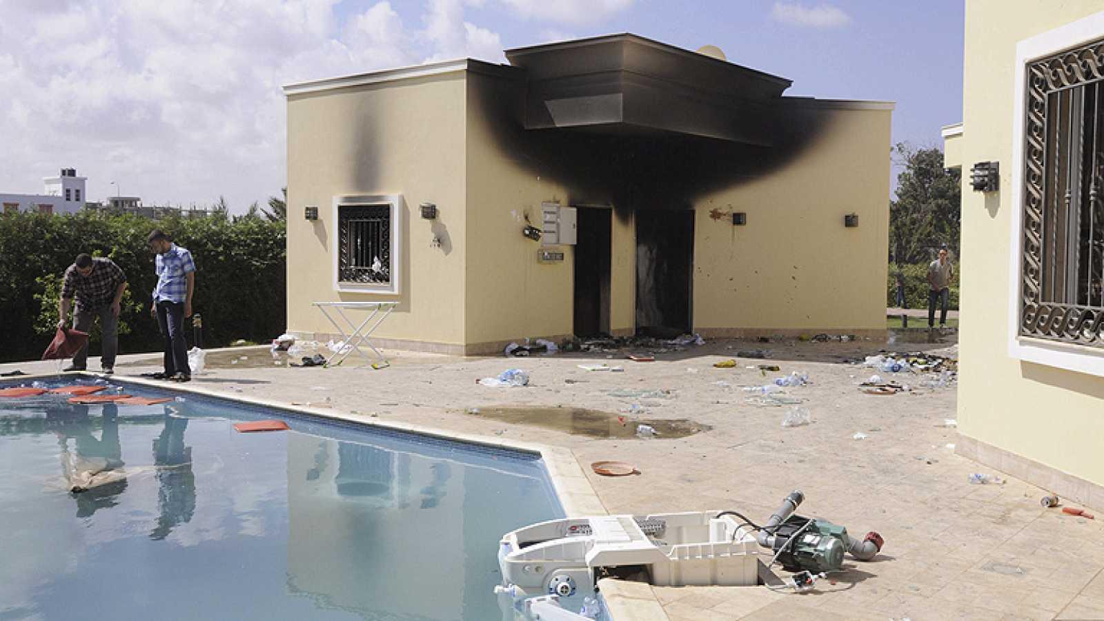 EE.UU. cree que el ataque contra su embajada en Libia fue planeado