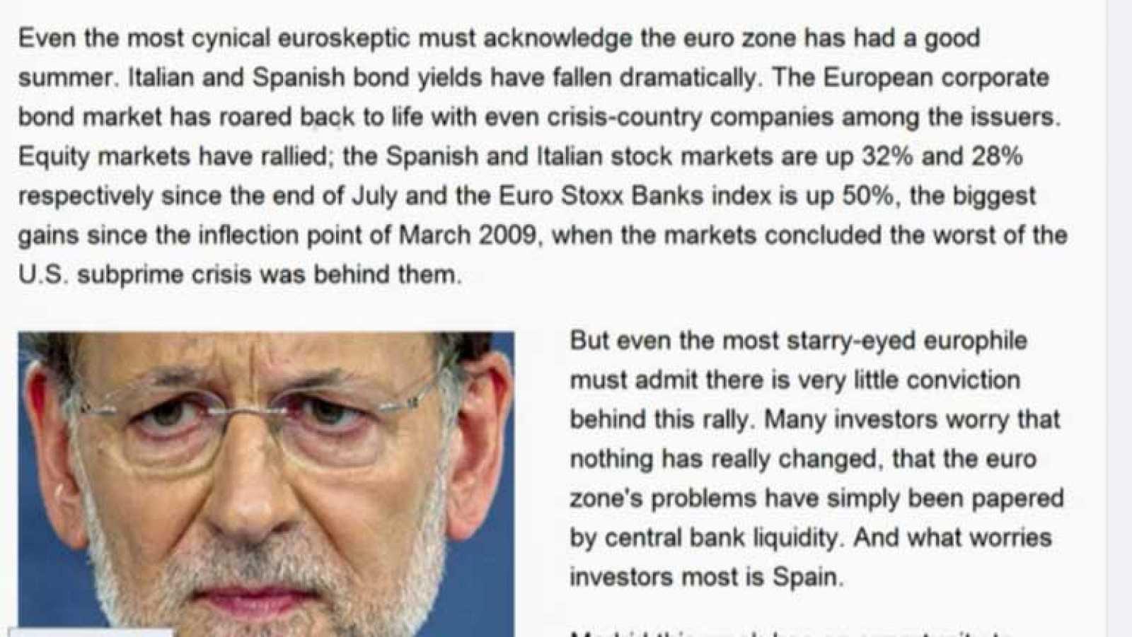 Rajoy defenderá el ingreso de España en el Consejo de Seguridad