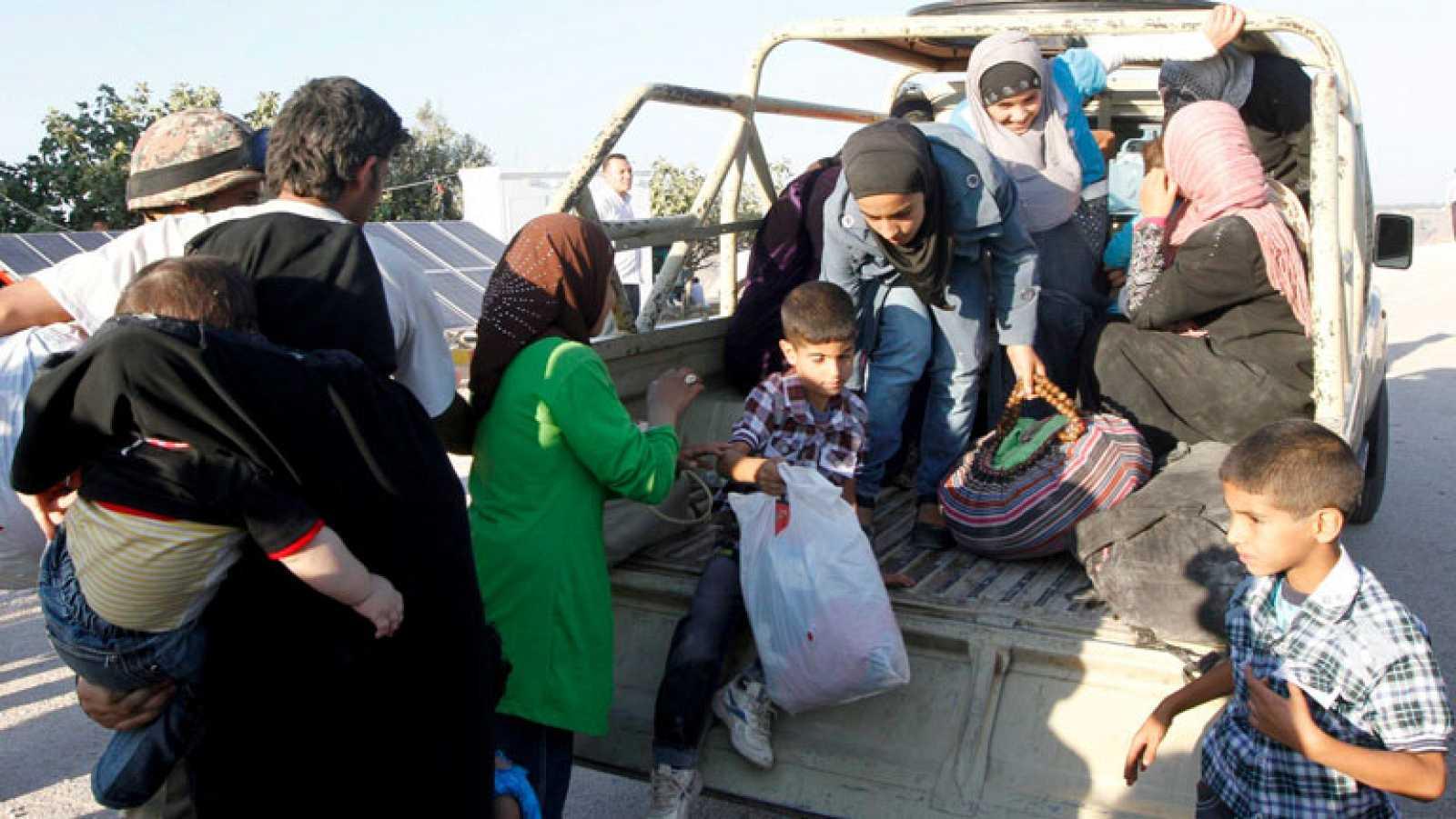 Más de 2.000 personas huyen de Siria al día, según la ONU