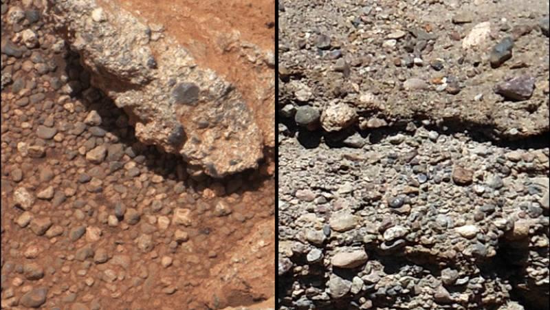 El robot 'Curiosity' halla pruebas de que Marte albergó agua gracias