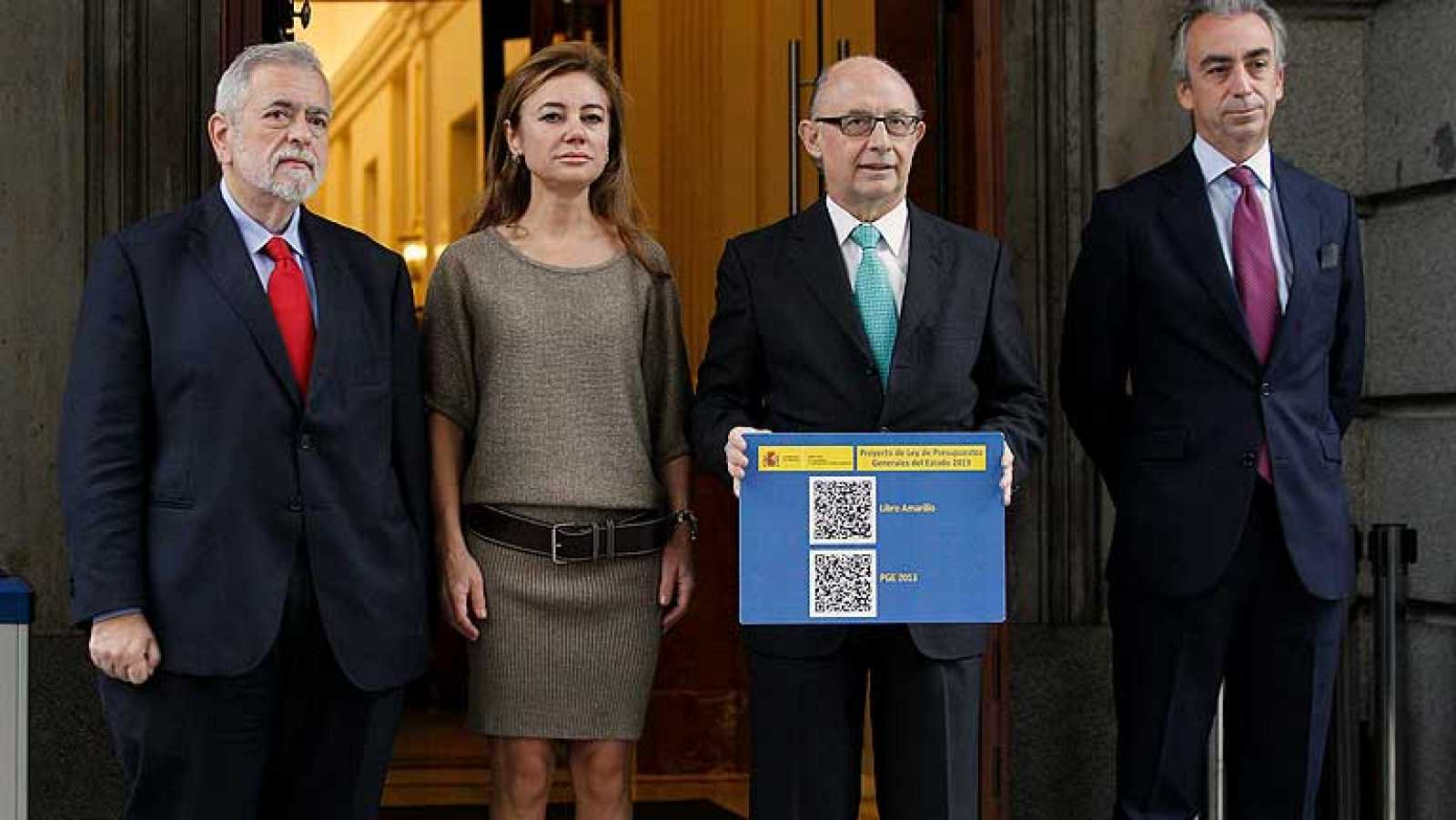 El Gobierno espera más ingresos con los Presupuestos de 2013