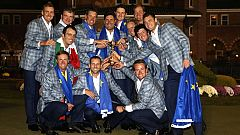 Europa gana la Ryder Cup y se la dedica a Severiano Ballesteros