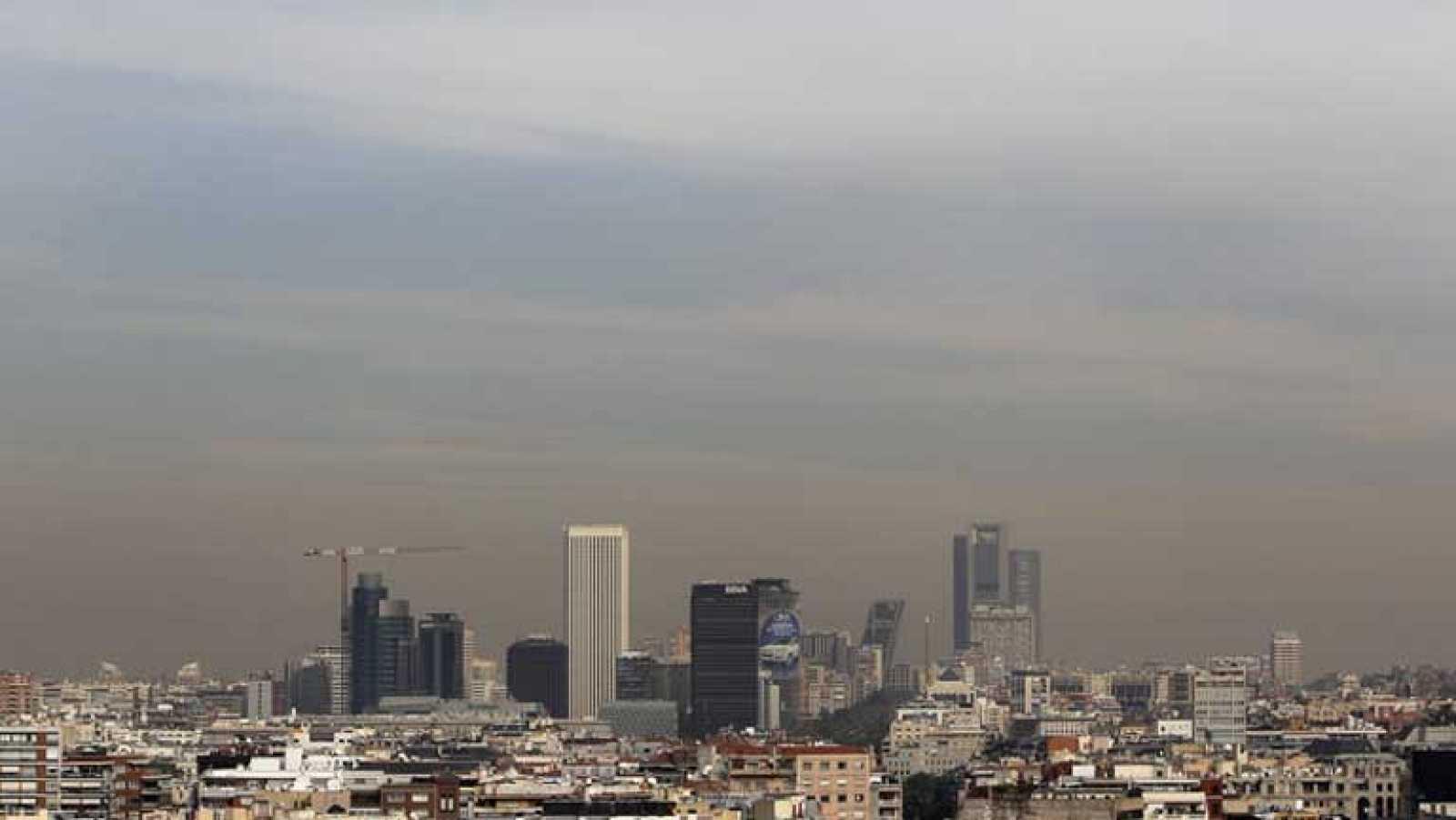 Los vehículos, los principales culpables de la contaminación atmoférica