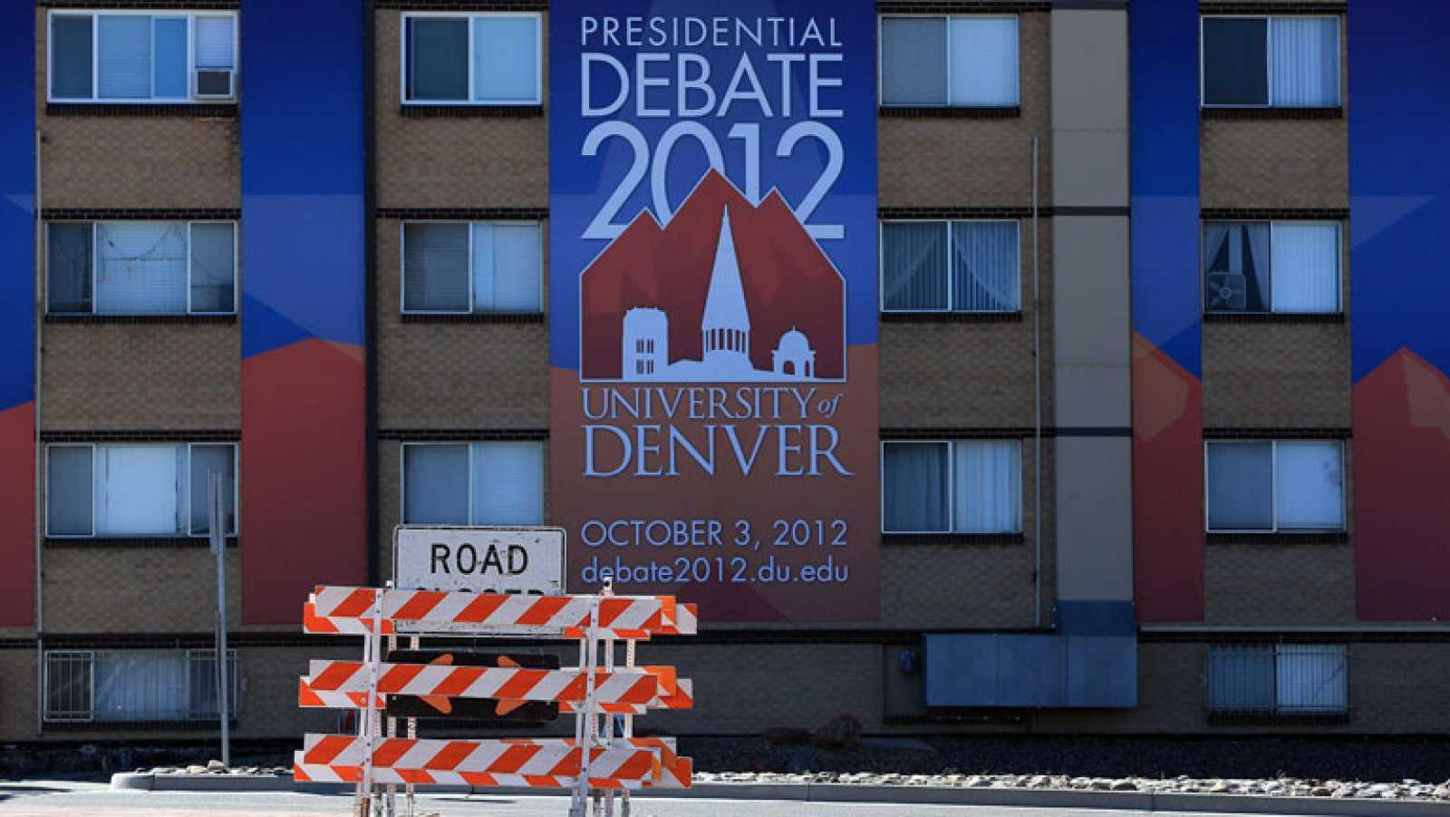 Ligera ventaja de Obama sobre Romney en las encuestas antes del primer cara a cara