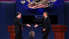 Primer debate para Romney y Obama