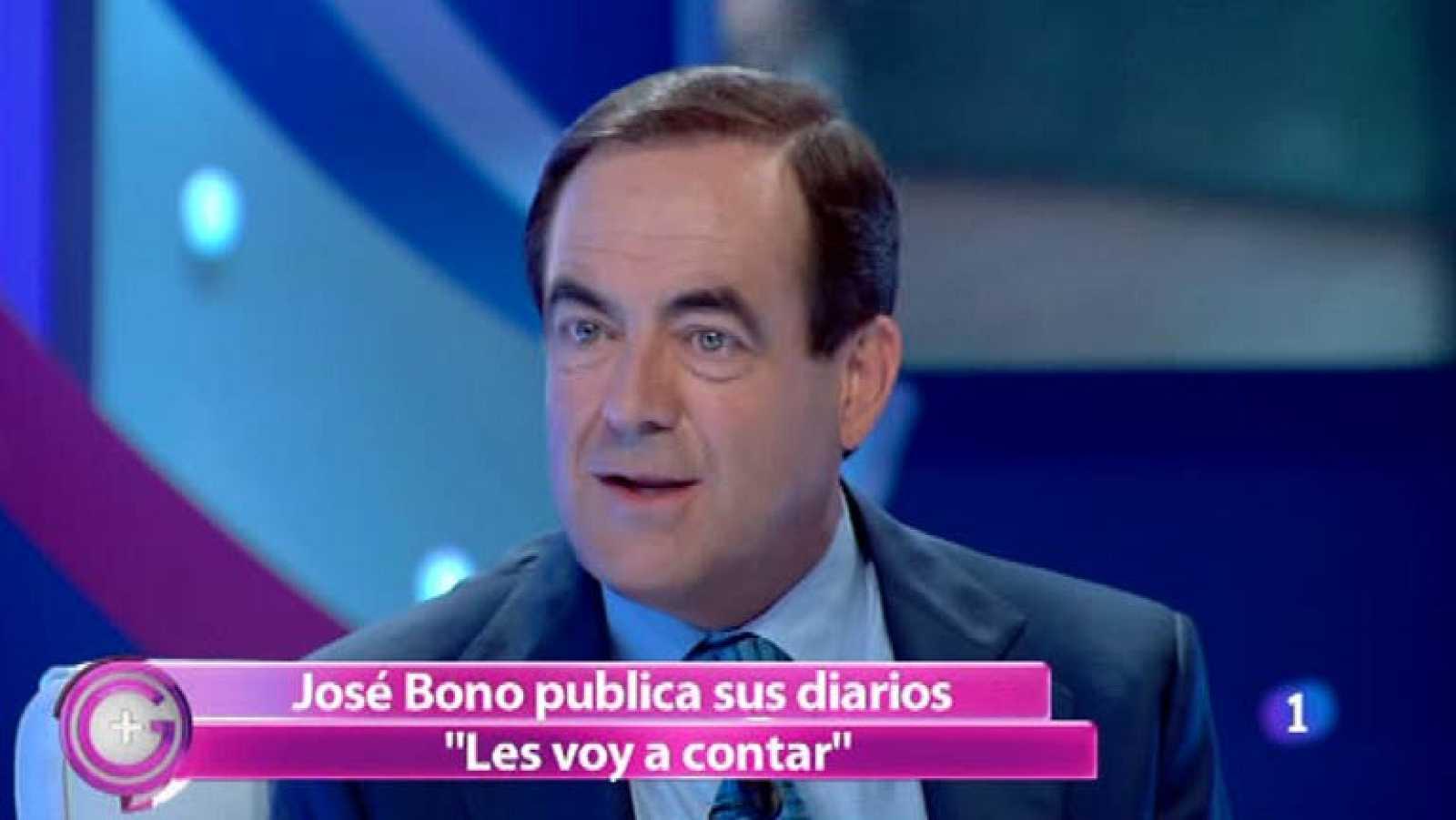Más Gente - José Bono presenta 'Les voy a contar' en Más Gente