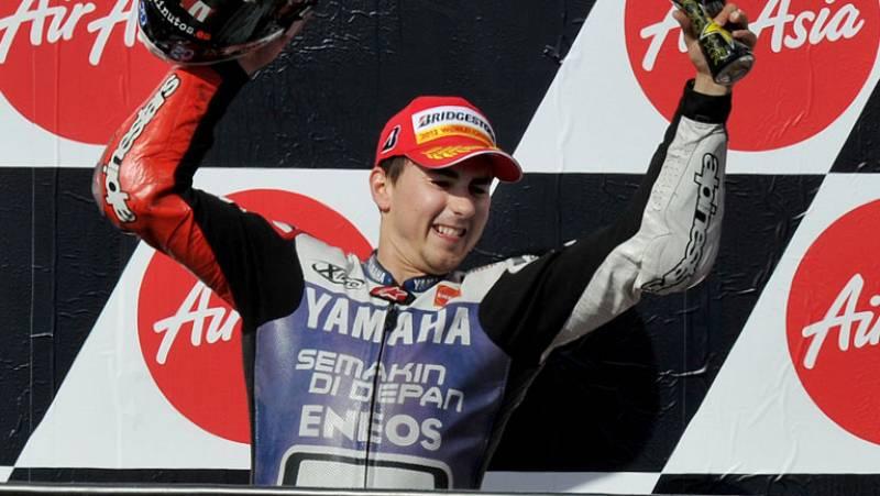Lorenzo se proclama campeón de MotoGP por segunda vez